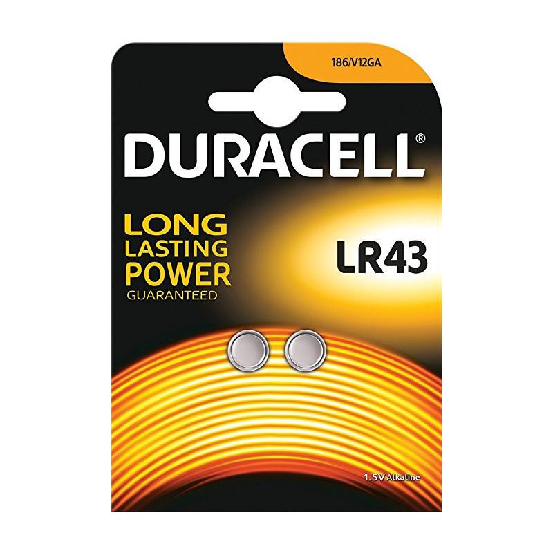 Duracell patarei LR43 1,5V/2B