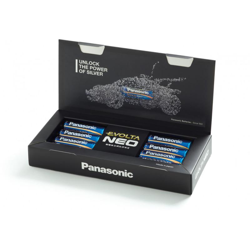 Panasonic Evolta Neo patarei LR6 8B