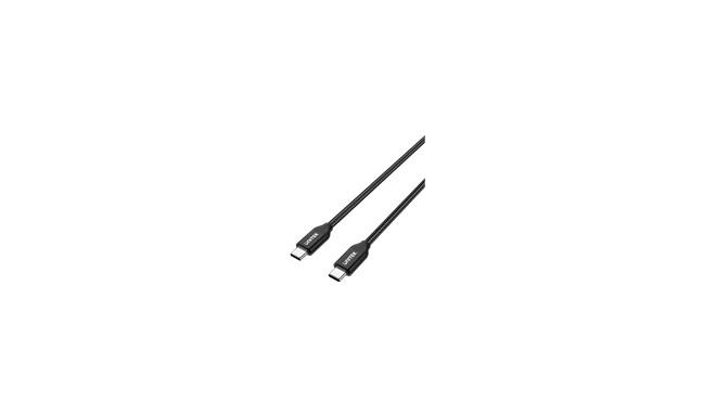 """UNITEK C14059BK Unitek Cable 2M PD USB C 100W USB C / USB C; C14059BK"""