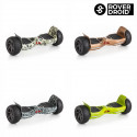 Electric Hoverboard Bluetooth Scooter with Rover Droid Stor 190 Speaker (Minecraft)