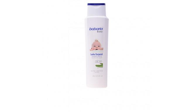 BABARIA BABY leche corporal hidratante aloe 400 ml