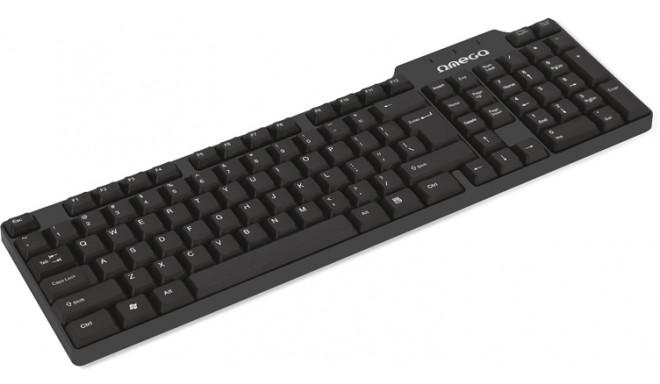 Omega klaviatuur OK-05 USB/micro USB (41829)