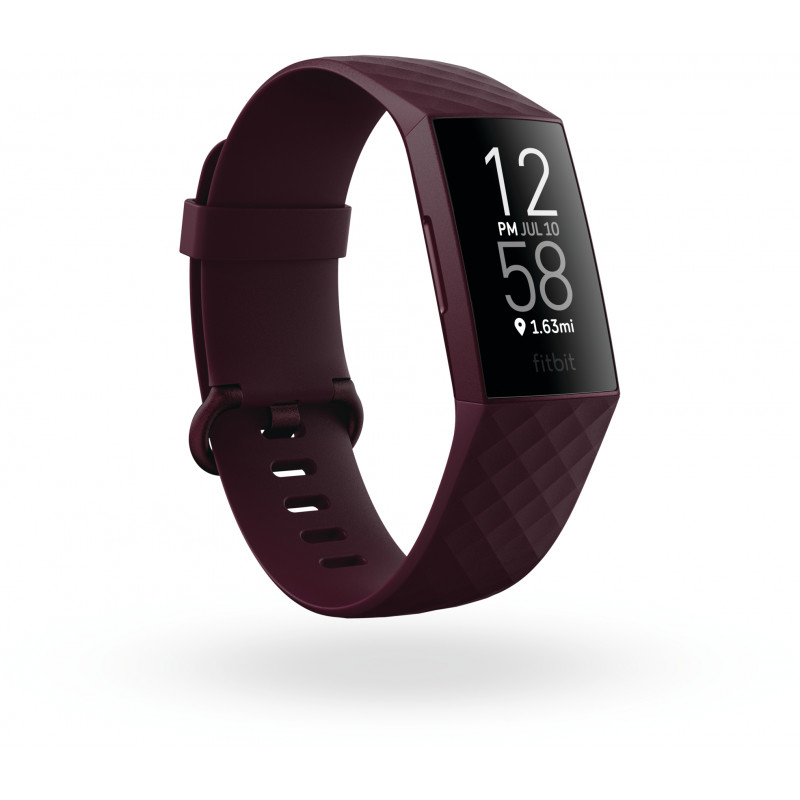Fitbit aktiivsusmonitor Charge 4 GPS, rosewood