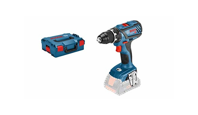 Bosch cordless drill GSR 18V-28 Professional solo, 18 Volt(blue / black, L-BOXX, without battery an