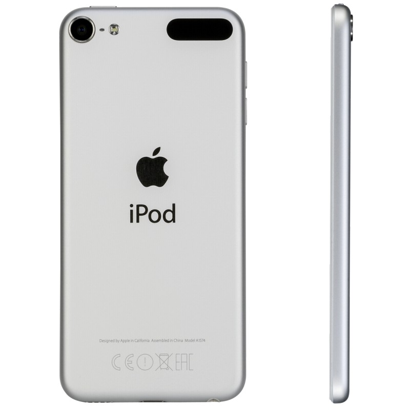 apple ipod touch silver 64gb 6 generation mp3 players photopoint. Black Bedroom Furniture Sets. Home Design Ideas
