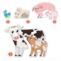 Animals Puzzle Xxl Diset (18 pcs)