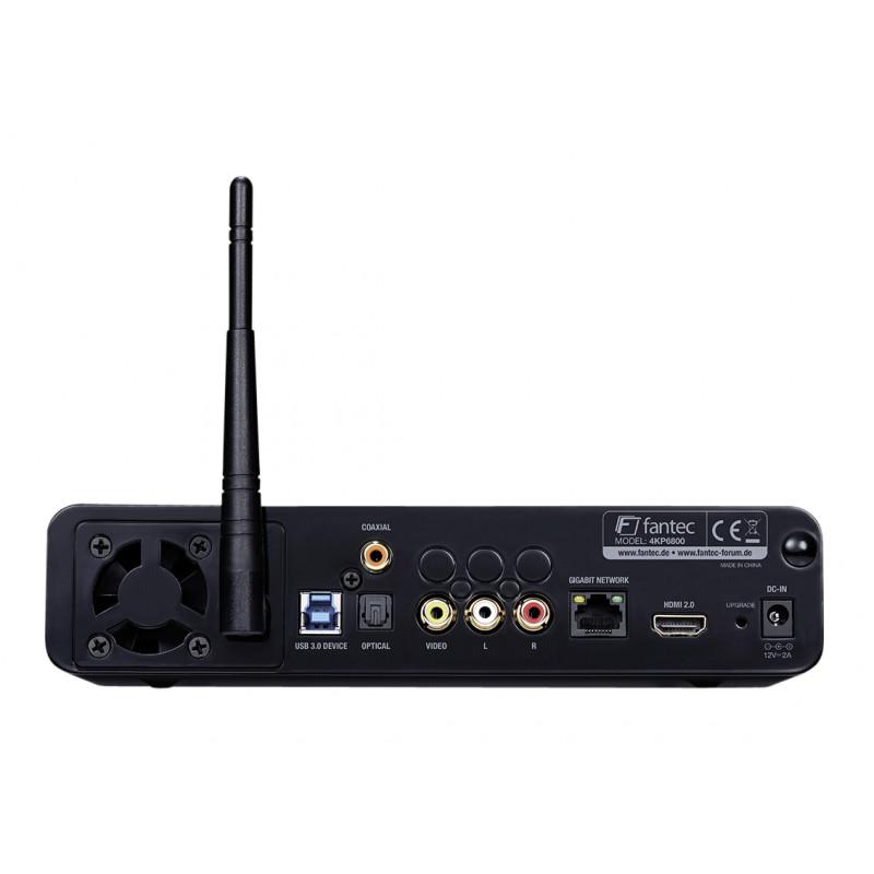 Fantec meedipleier 4KP6800 4K HDR & 3D