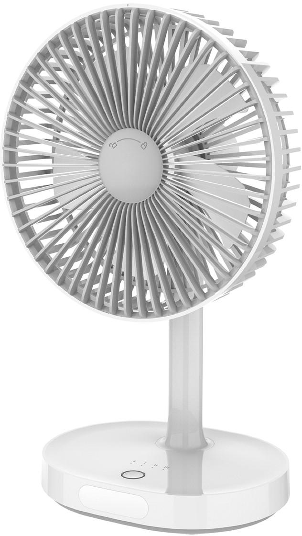 Platinet ventilaator akuga 3000mAh, valge/hall (45..
