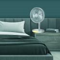 Platinet rechargeable fan 3000mAh, white/grey (45242)