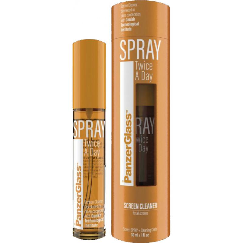 PanzerGlass display cleaner spray Twice A Day 30ml