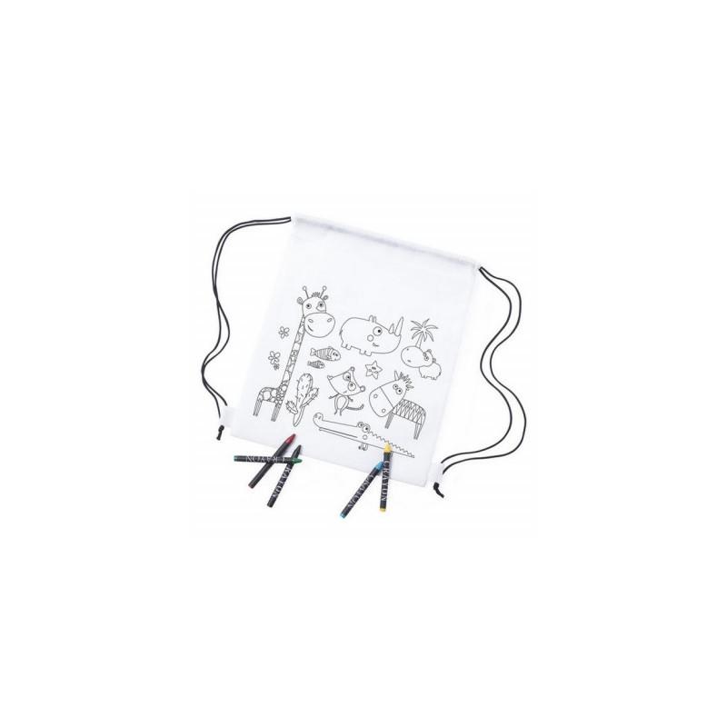 Värvitav seljakott 145701 , valge