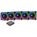 Thermaltake ventilaator Riing Plus 14 RGB 5tk (avatud pakend)