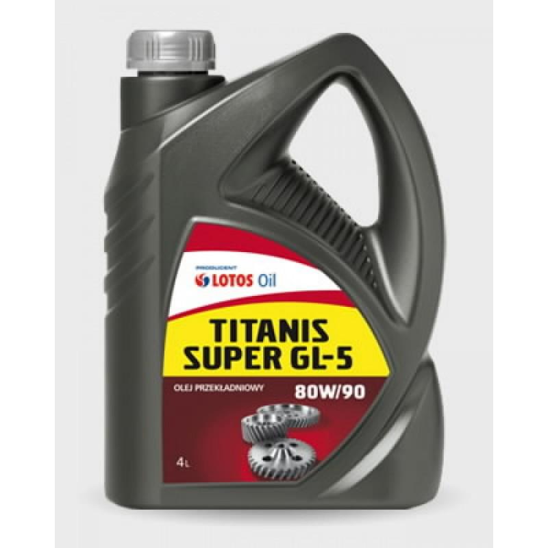 Transmissiooniõli TITANIS GL-5 SAE 80W90 1L, Lotos Oil
