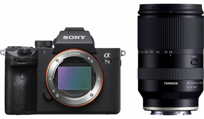 Sony a7 III + Tamron 28-200mm