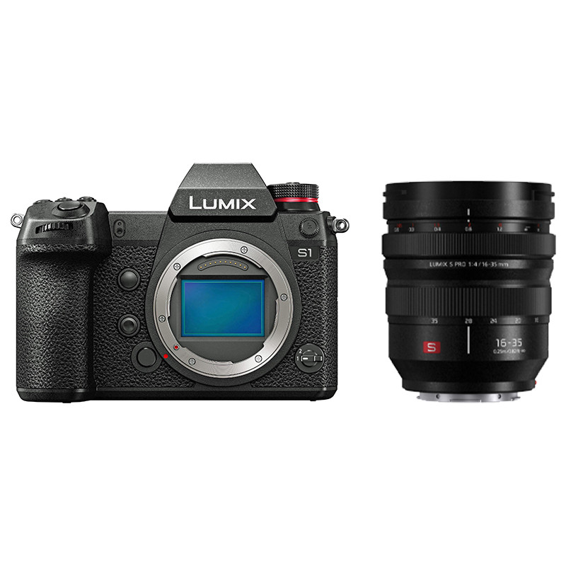 Panasonic Lumix DC-S1 + 16-35mm f/4