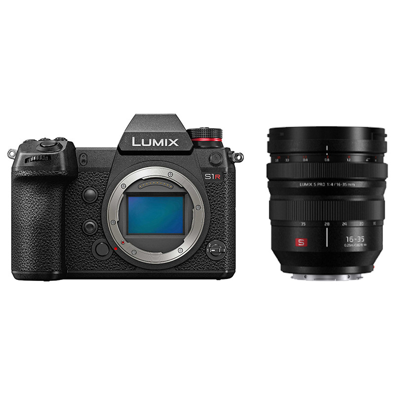 Panasonic Lumix DC-S1R + 16-35mm f/4