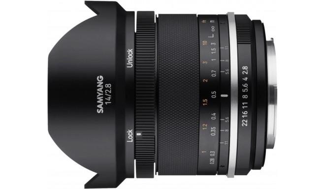 Samyang MF 14mm f/2.8 MK2 objektiiv Fujifilmile