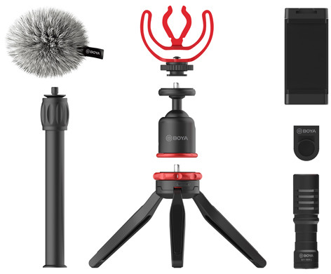 Boya vlogging kit Standard BY-VG330