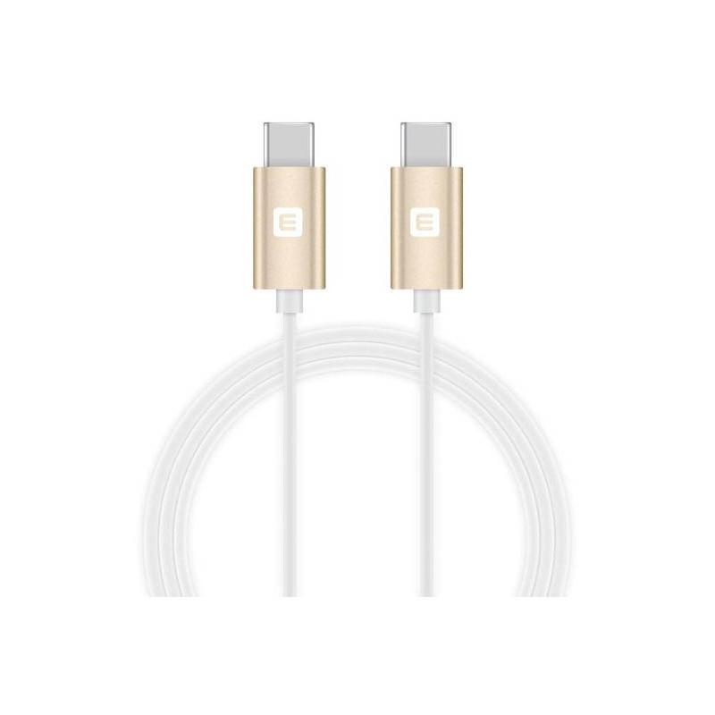 Evelatus kaabel USB-C - USB-C TPC03, valge