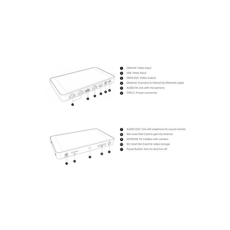 YoloLiv otseülekande seade YoloBox