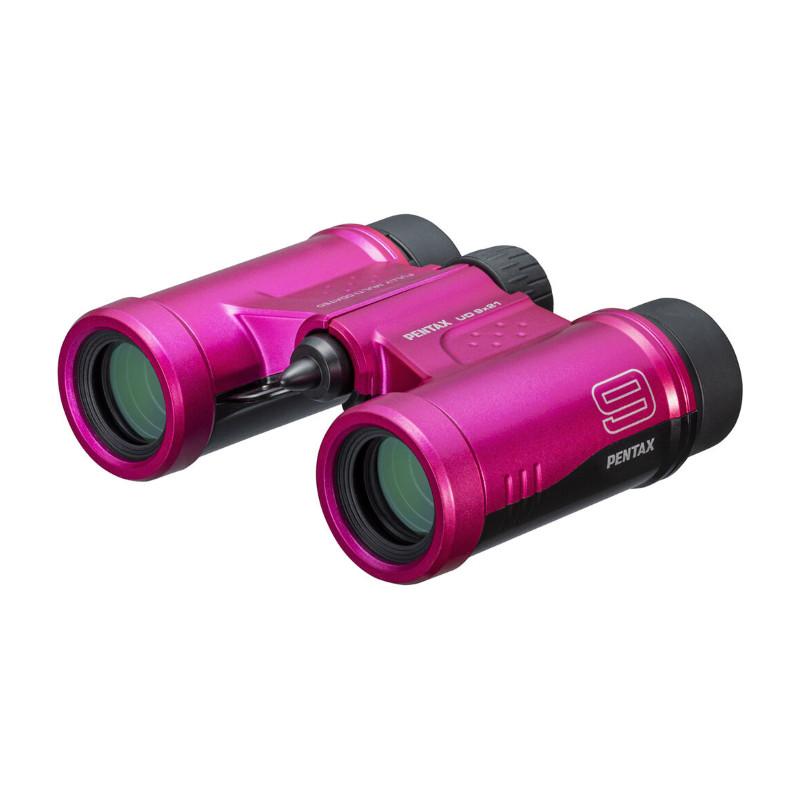 Pentax binokkel UD 9x21, roosa