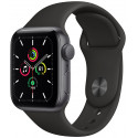 Apple Watch SE GPS 40mm Sport Band, space gray/black