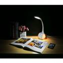 Platinet galda lampa ar nakts gaismu PDL20 7W (43130)