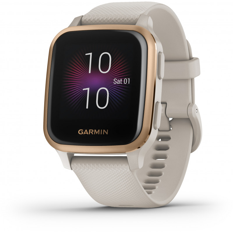 Garmin Venu Sq Music, light sand/rose gold