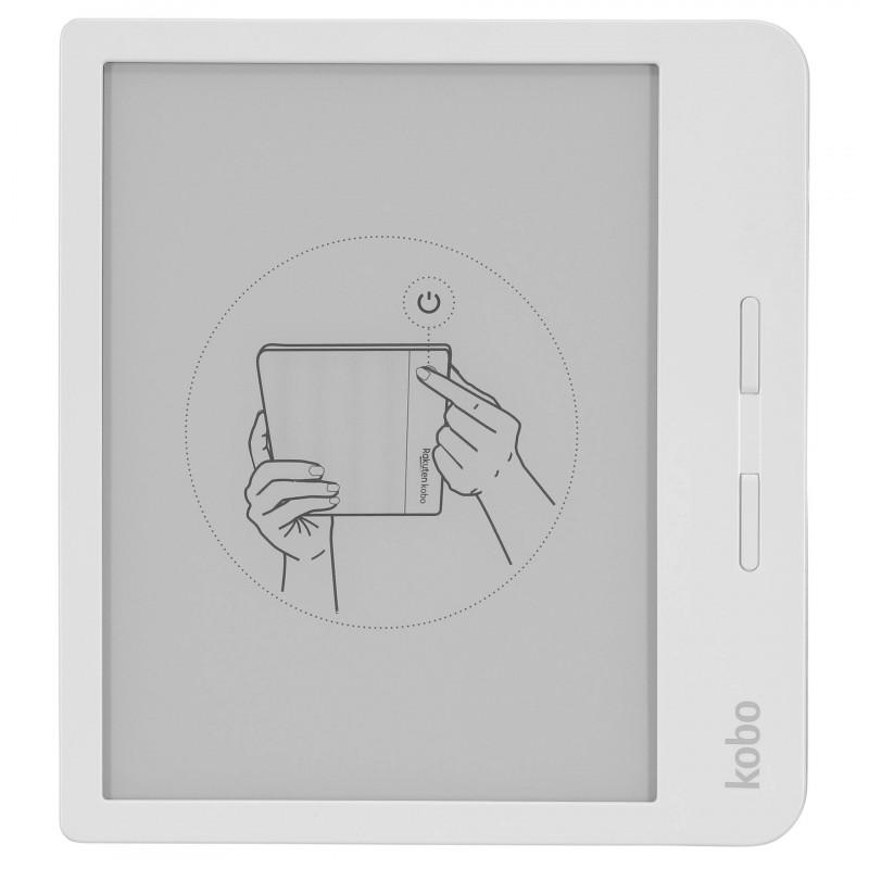 Kobo e-reader Libra H2O, white