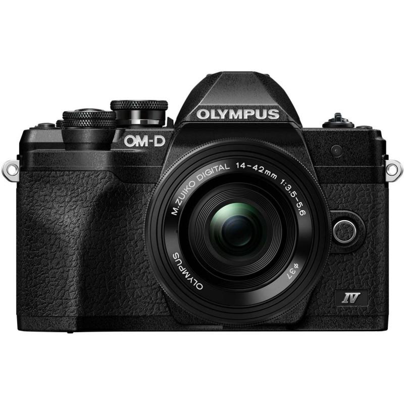 Olympus OM-D E-M10 Mark IV + 14-42mm EZ Kit, must/must