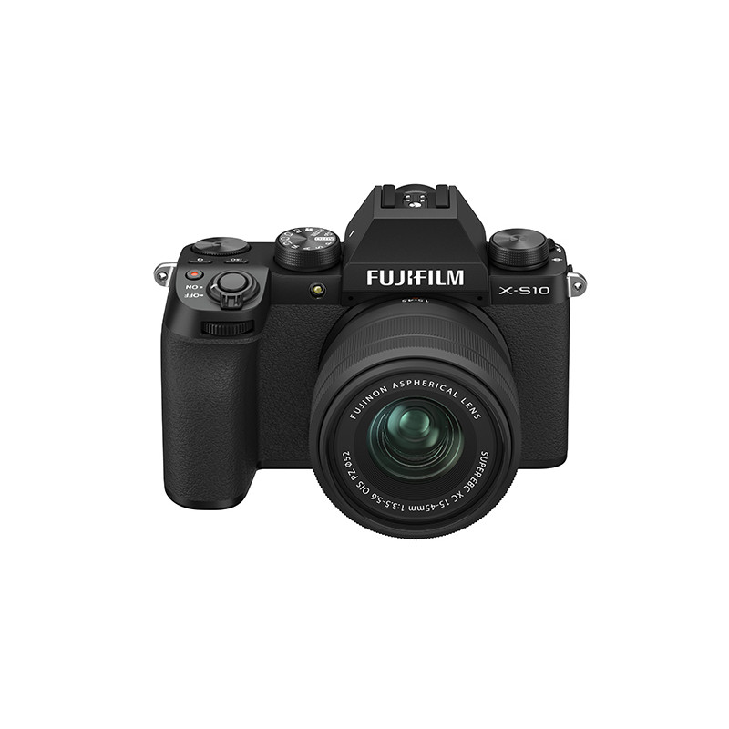 Fujifilm X-S10 +15-45mm Kit, must