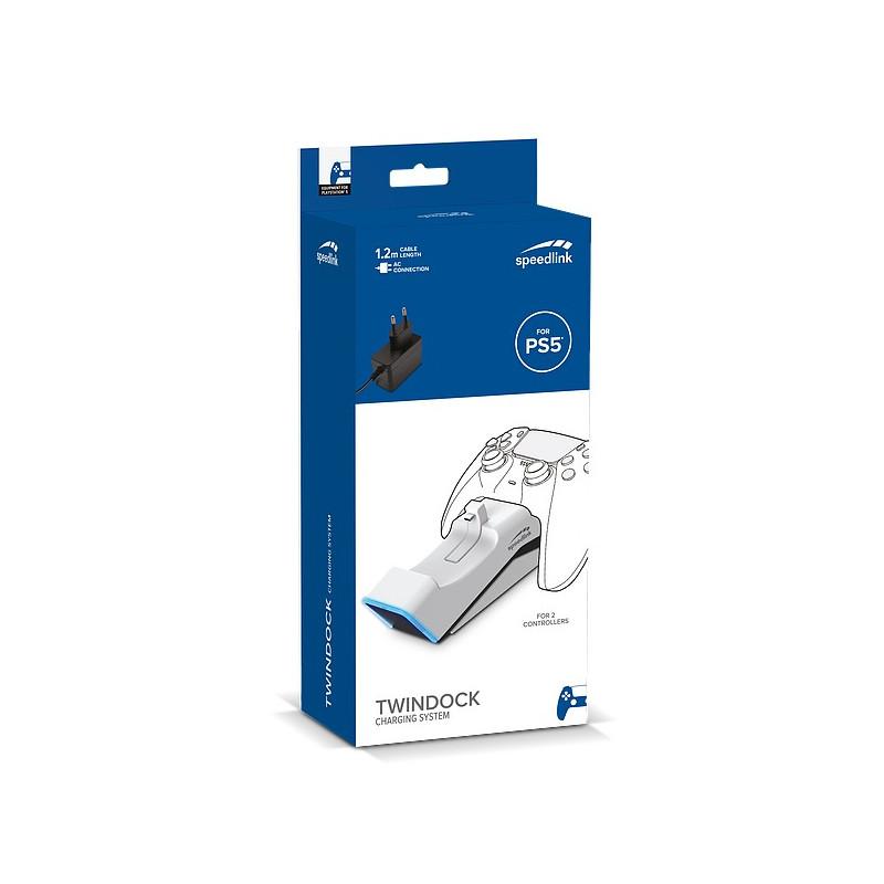 Speedlink laadija Twindock PS5 (SL460000-WE)
