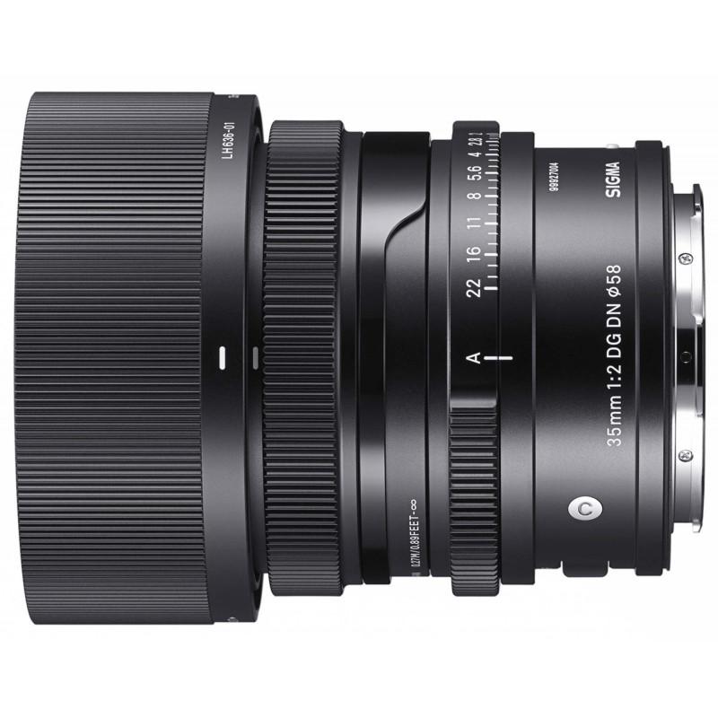 Sigma 35mm f/2.0 DG DN Contemporary objektiiv L-bajonett