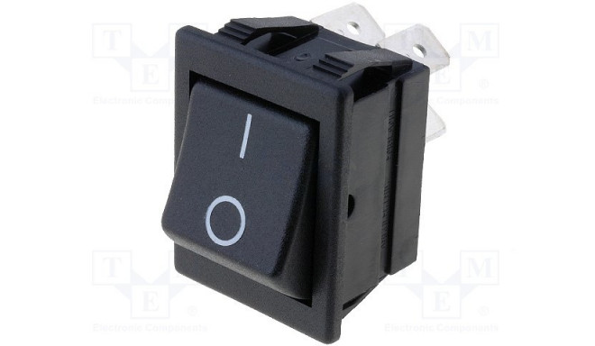 AE-C1350ABAAB ROCKER;ON-OFF;Contacts:DPST;Stable positions:2-position