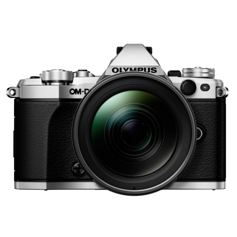 Olympus OM-D E-M5 Mark II Kit silver + 12-40 mm