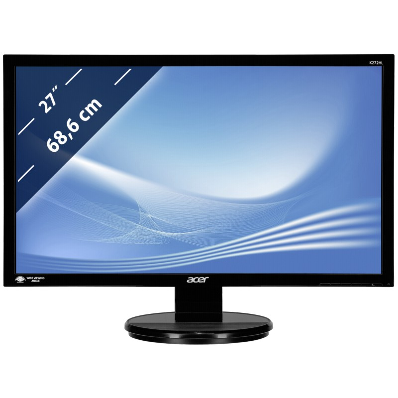 Acer Monitor 27 Quot Wqhd K272hlbid Monitors Photopoint
