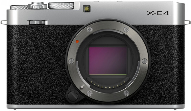 Fujifilm X-E4 body, silver