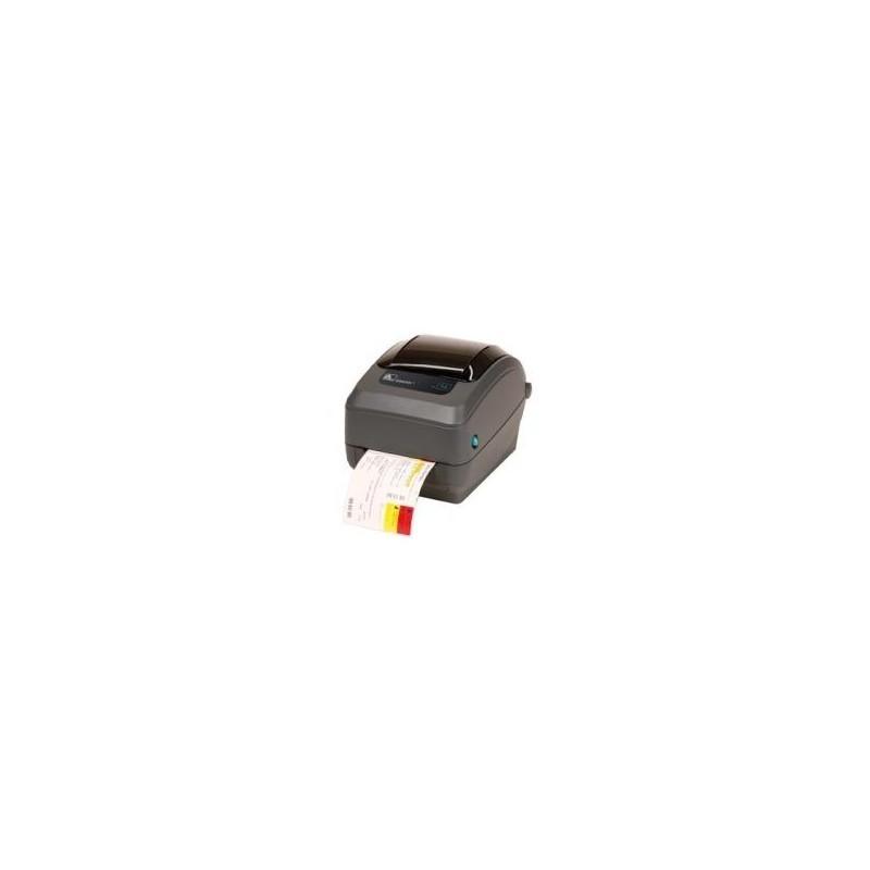 Zebra GX420d rev2, 8 dots/mm (203 dpi), peeler, display, EPL, ZPL,  multi-IF, print server (wifi) (GX