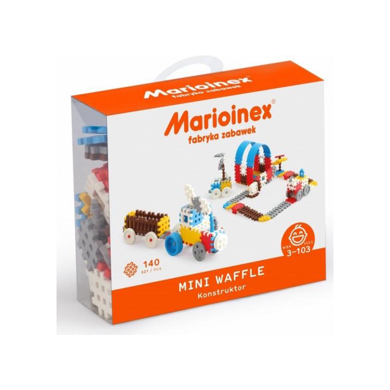 Marioinex mänguklotsid Waffle Mini 140tk