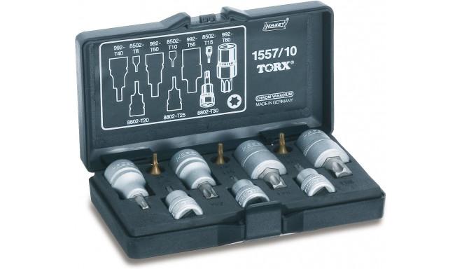 Hazet tool set TORX 1557/10 10 pieces