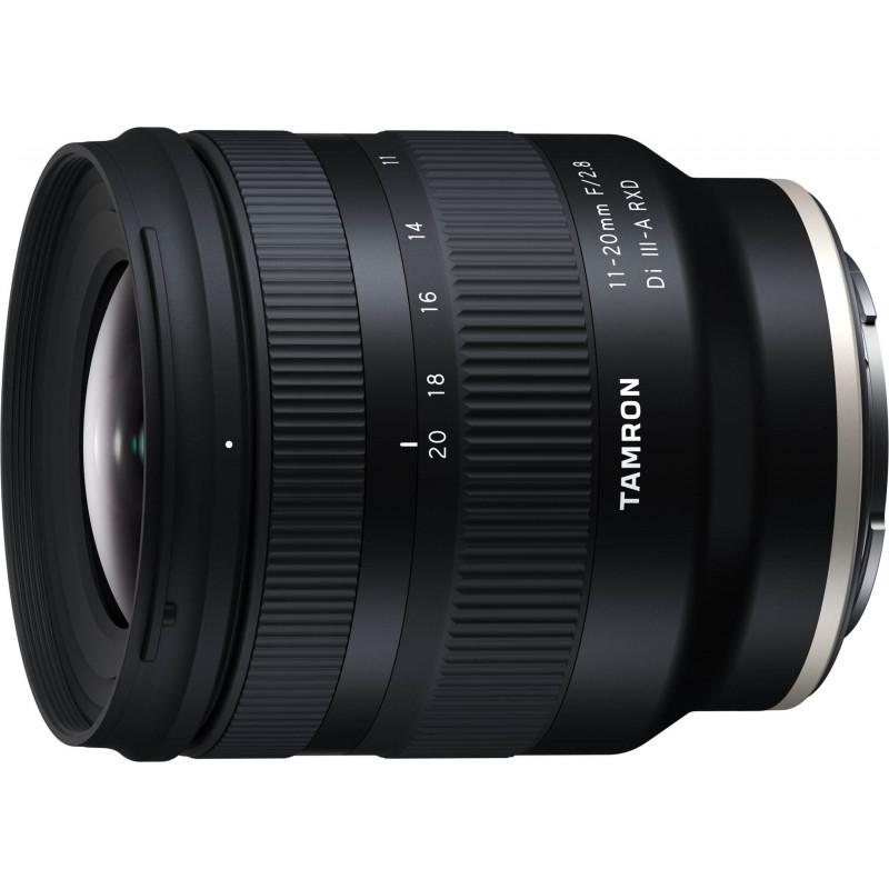 Tamron 11-20mm f/2.8 Di III-A RXD objektiiv Sonyle