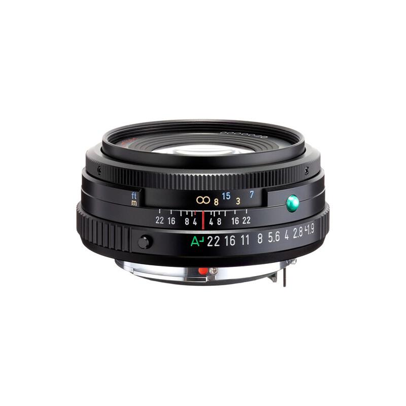 HD Pentax FA 43mm f/1.9 Limited objektiiv, must