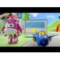 ALPHA SUPER WINGS Transform A Bots! Jett 8 cm