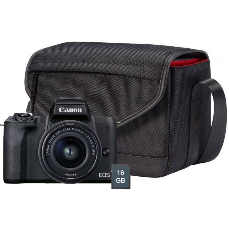 Canon EOS M50 Mark II Travel Kit