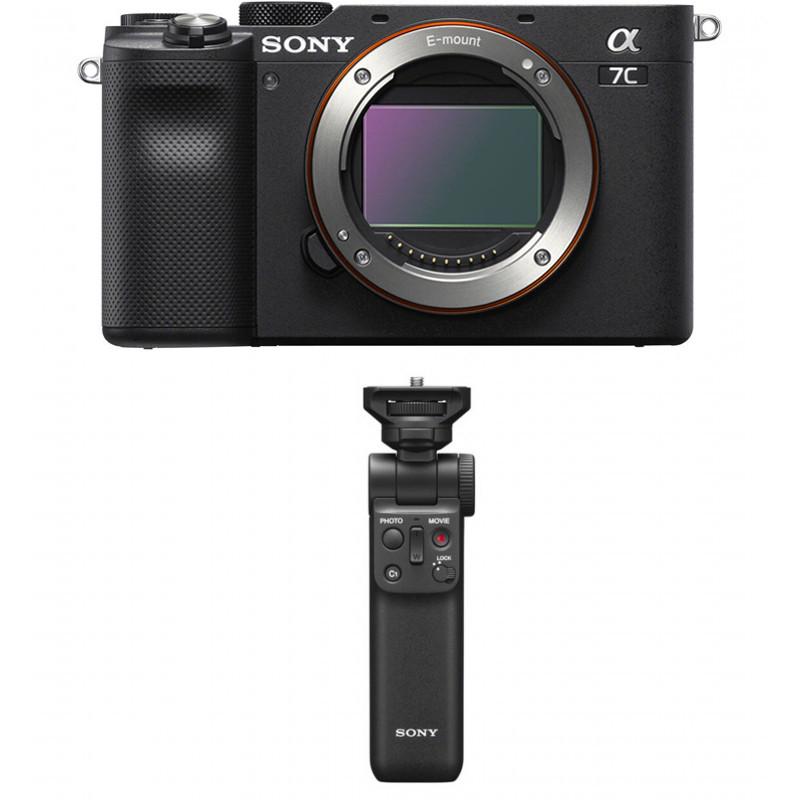 Sony a7C + Sony ручка-миништатив, черный