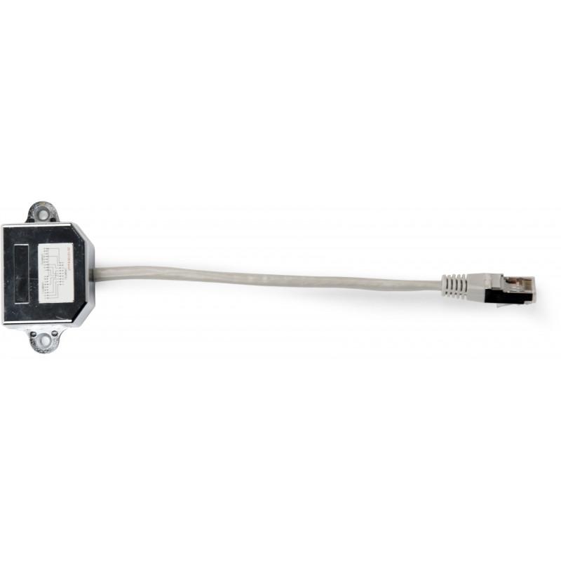 Gembrid adapter RJ-45 - 2xRJ-45 LAN FTP (NCA-SP-02)