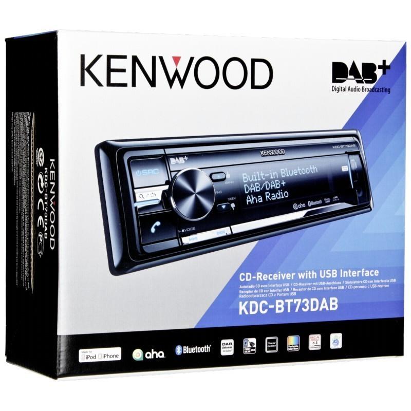 kenwood kdc bt73dab car radios photopoint. Black Bedroom Furniture Sets. Home Design Ideas
