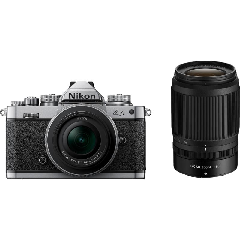 Nikon Z fc + 16-50 mm + 50-250mm