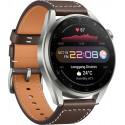 Huawei Watch 3 Pro, hõbedane/pruun nahk