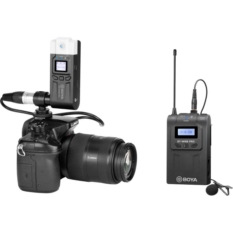 Boya wireless microphone BY-WM8 Pro-K7 UHF Wireless